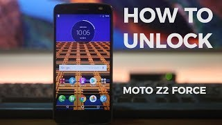 How To Unlock Moto Z2 Force Edition - Any GSM Carrier