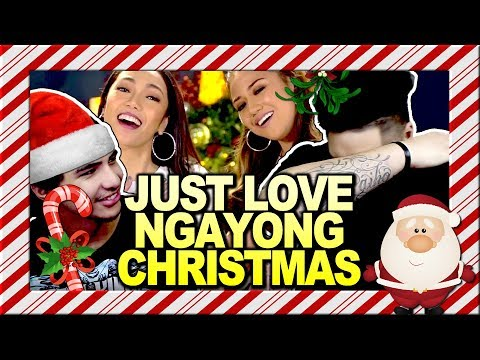 """ABS-CBN Christmas Station ID 2017 """"Just Love Ngayong Christmas"""" Recording Lyric Video REACTION!!!"""