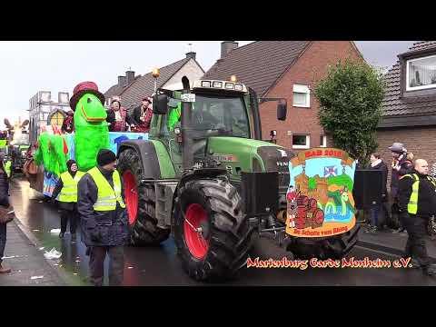 Karnevalszug 2018 In Monheim Baumberg