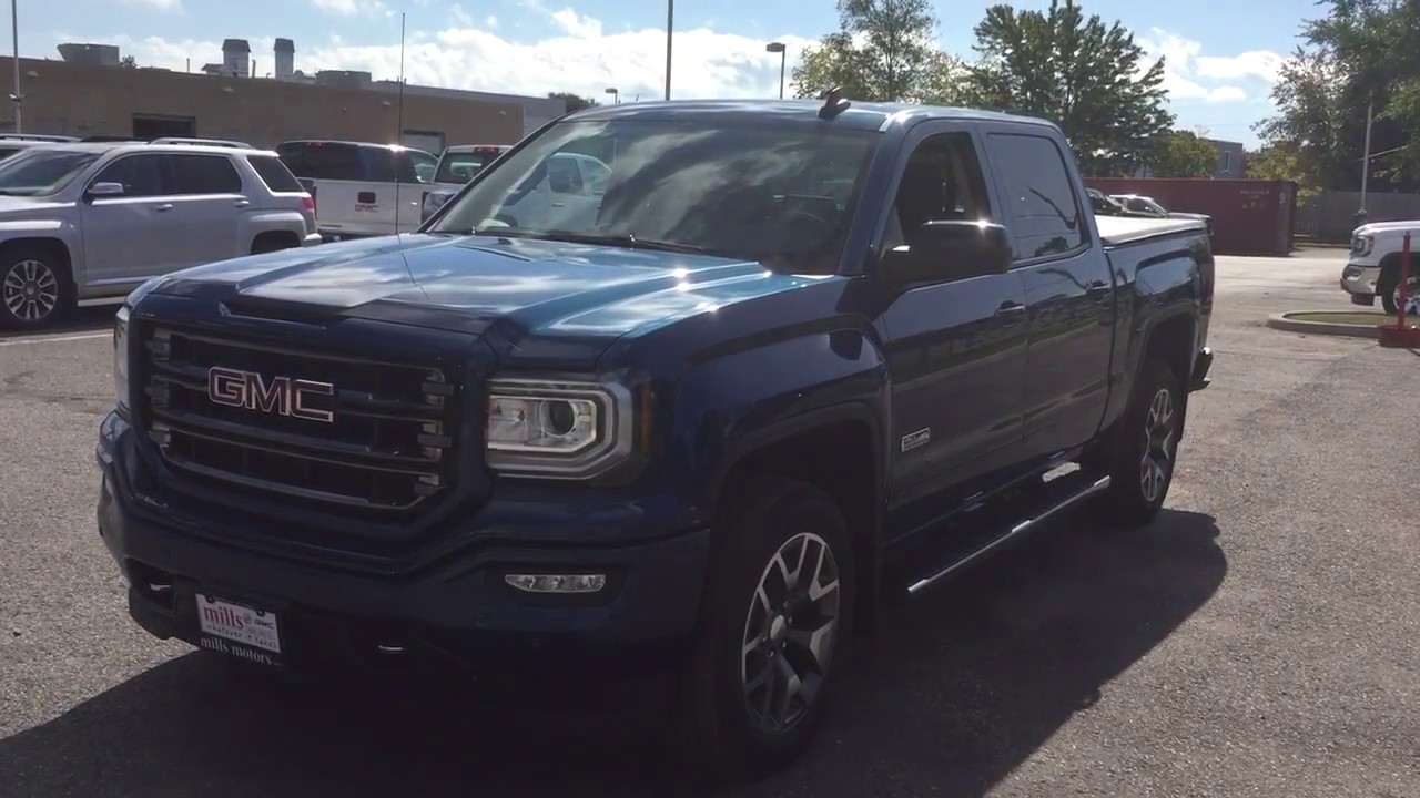 2018 gmc rocky ridge. plain ridge 2018 gmc sierra 1500 slt all terrain crew cab wireless charging blue oshawa  on stock 180092 on gmc rocky ridge w