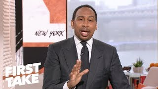 Stephen A. Smith wants people to pump the brakes on Jimmy Garoppolo | First Take | ESPN