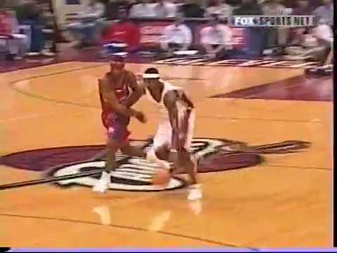 NBA 2004-05 Clippers vs Cavaliers-  best plays n highlights