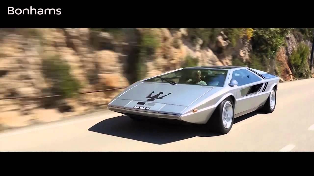 chantilly sale highlight: 1972 maserati boomerang - youtube