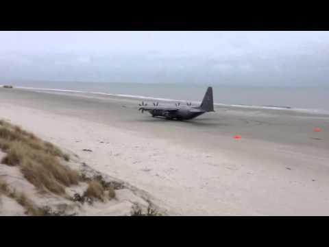 C130 Hercules Beach Takeoff