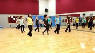 Rio De Amor (River of Love) - Line Dance (Dance & Teach in English & 中文)