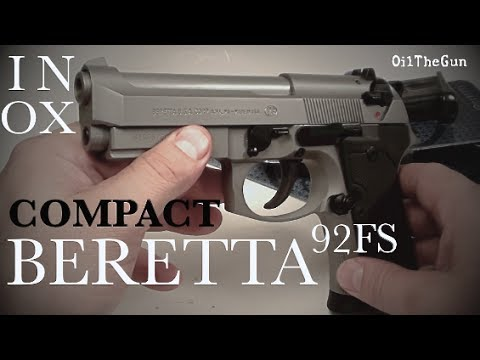 BERETTA 92FS COMPACT INOX 9mm with RAIL - Preview