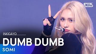 Download SOMI(전소미)- DUMB DUMB @인기가요 inkigayo 20210815