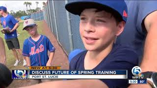 St. Lucie County to talk about the Mets future