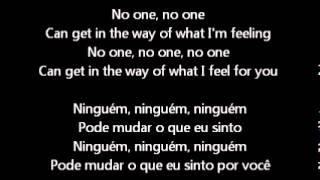 No One Alicia Keys inglês e português