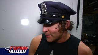 Dean Ambrose lays down the law: Raw Fallout, May 25, 2015