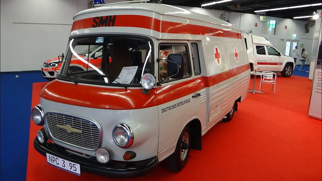 1985 barkas b1000 krankenwagen iaa frankfurt 2015 youtube. Black Bedroom Furniture Sets. Home Design Ideas