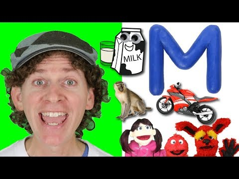 Letter M | Today's Letter Song with Matt and Friends | Preschool, Kindergarten, Learn English