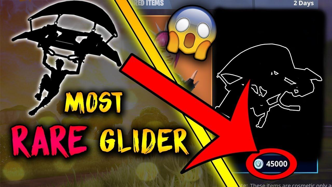 the rarest glider in fortnite fortnite rare items - fortnite penguin glider