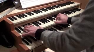 British national anthem - God save the Queen , organ