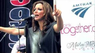 "Martina Mcbride Performs ""One Night"" at Union Station in Chicago"