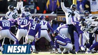 Blair Walsh Misses Easy Field Goal; Seahawks Beat Vikings