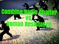 Garry's Mod - NPC War #5 Combine vs. Human Resistance