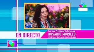 Comunicación con la Vicepresidenta Compañera Rosario Murillo, 18 de junio de 2019