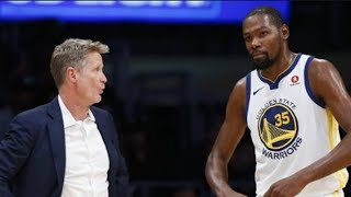 Steve Kerr EXPOSES Kevin Durant! Says He Drifted After NOT Getting Recognition BEATING Lebron James!