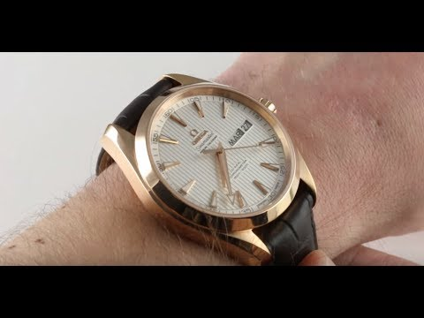 Pre-Owned Omega Seamaster Aqua Terra 231.53.43.22.02.002 Luxury Watch Review