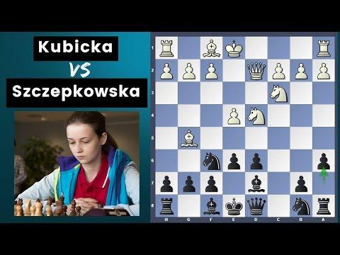In the footsteps of Kupreichik the Great - Kubicka vs Szczepkowska 2018 Polish Women's Championship