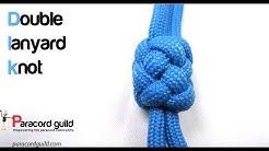 Double lanyard knot