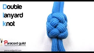 Double lanyard knot