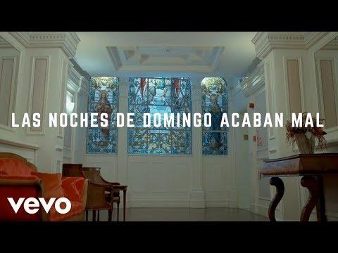 Joaquin Sabina - Las Noches de Domingo Acaban Mal (Lyric Video)