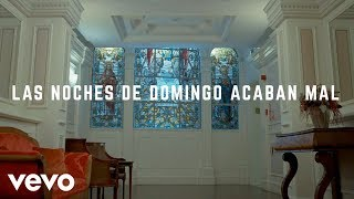 Joaquin Sabina - Las Noches de Domingo Acaban Mal (Lyric Video)