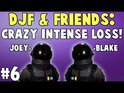 DJF & Friends: Crazy Intense Ending! | Fortnite Duo Choke! #6
