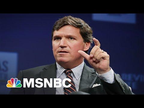Tucker Carlson Slammed For Saying Kids Wearing Masks Outside Warrants Police Intervention | MSNBC