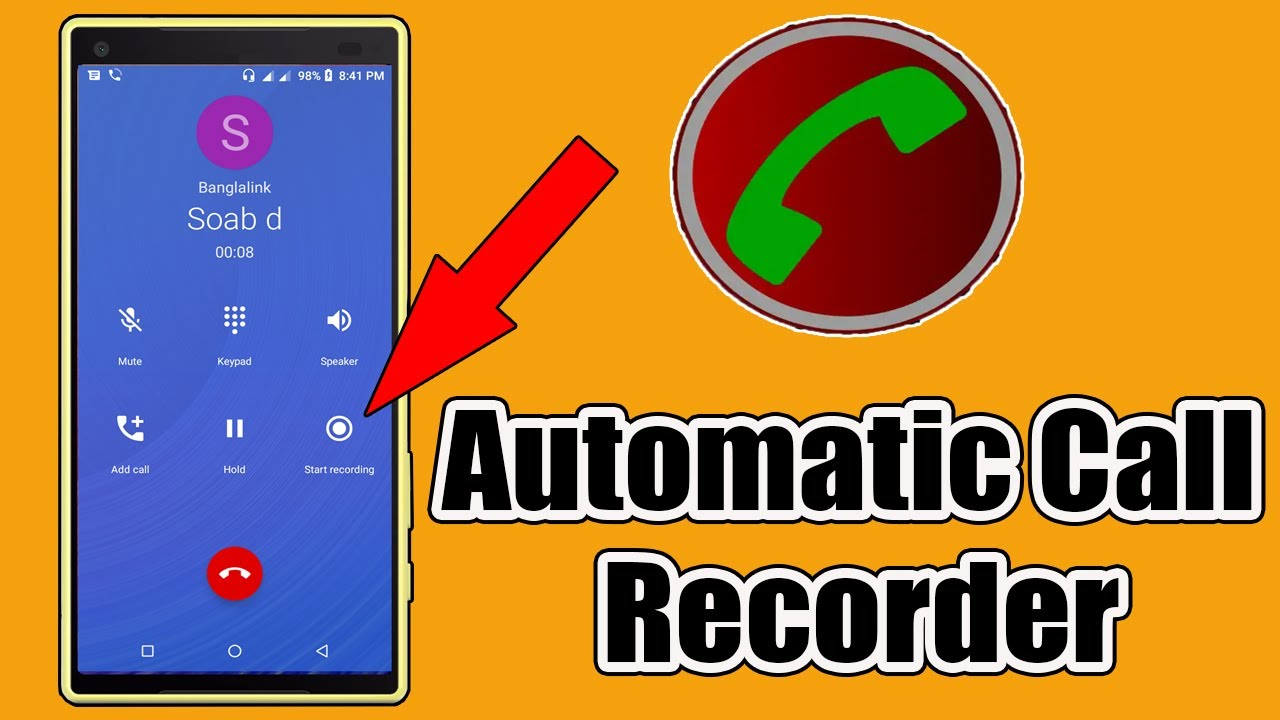 Automatic Call Recorder For Android - Automatic Call Recorder - YouTube