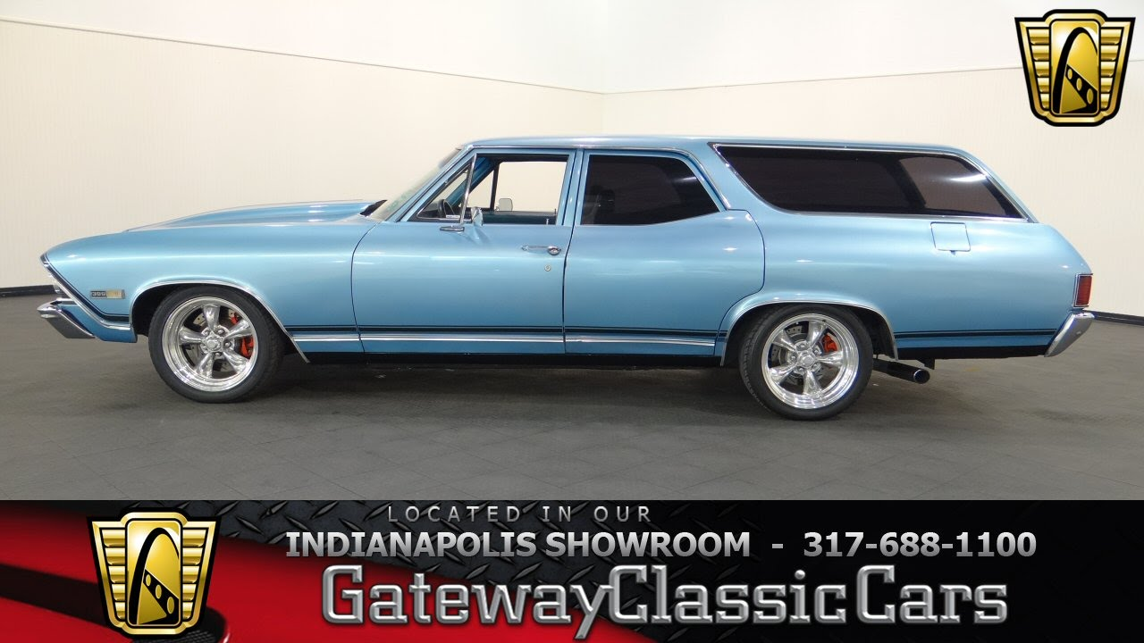 All Chevy 1968 chevrolet chevelle : 1968 Chevrolet Chevelle Wagon - Gateway Classic Cars Indianapolis ...