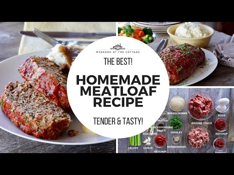 the-best-homemade-meatloaf-recipe!