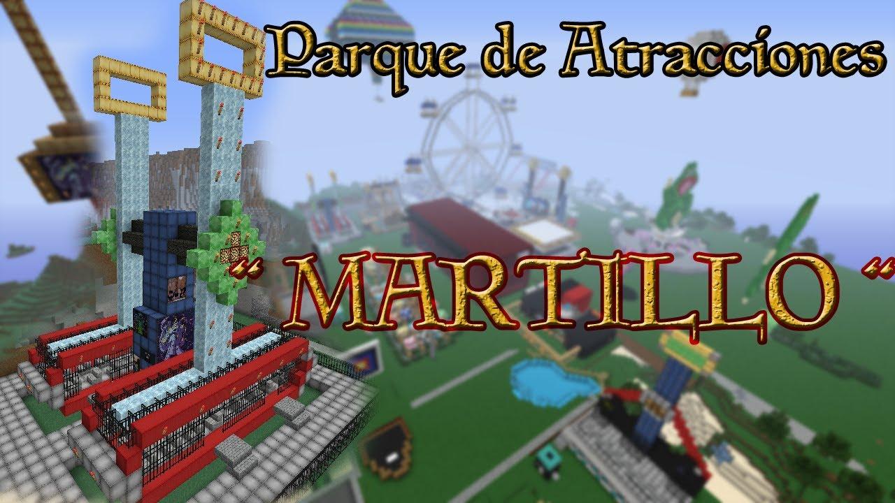 Minecraft Parque De Atracciones Quot Martillo Hammer