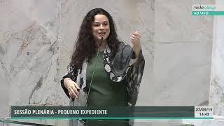 Janaina Paschoal, Deputada Estadual - Psl - 27/09/2019