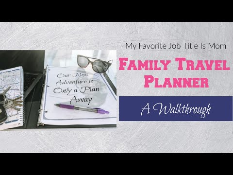 FAMILY TRAVEL PLANNER - WHAT'S INCLUDED