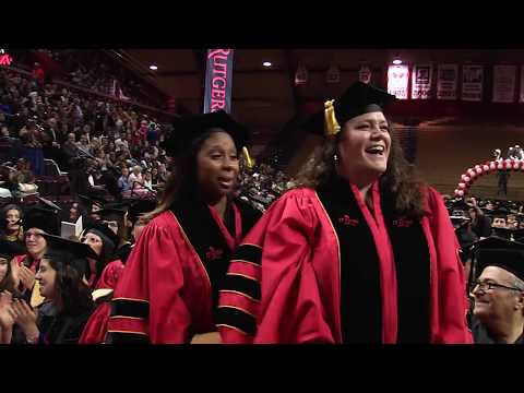 Rutgers School of Social Work 2018 Convocation