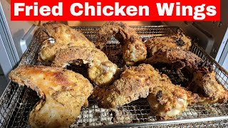 Fried Chicken Wings, Cuisinart Digital Air Fryer Toaster Oven TOA-65