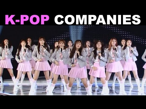 MASSIVE GUIDE TO K-POP COMPANIES! (117 ARTISTS)