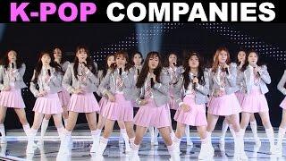 MASSIVE GUIDE TO K POP COMPANIES 117 ARTISTS
