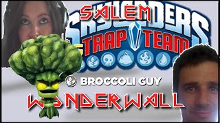 Salem vs Wonderwall *Skylanders Trap Team! [9] Chompy Mountain! Pt 2