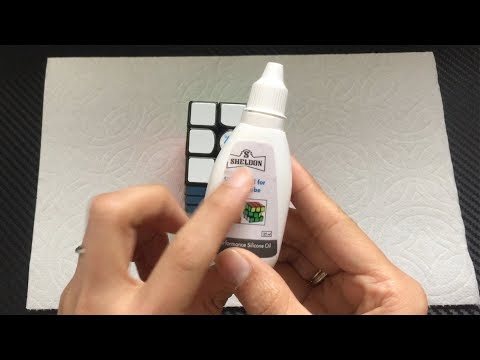 How to  lube 3x3 Rubik's cube