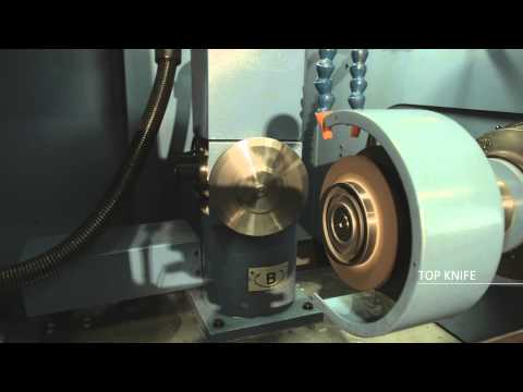 GÖCKEL RB5 Circular Knife Grinder / Rundmesser Schleifmaschine