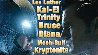 Batman v. Superman Trinity, Kryptonite & More Revealed