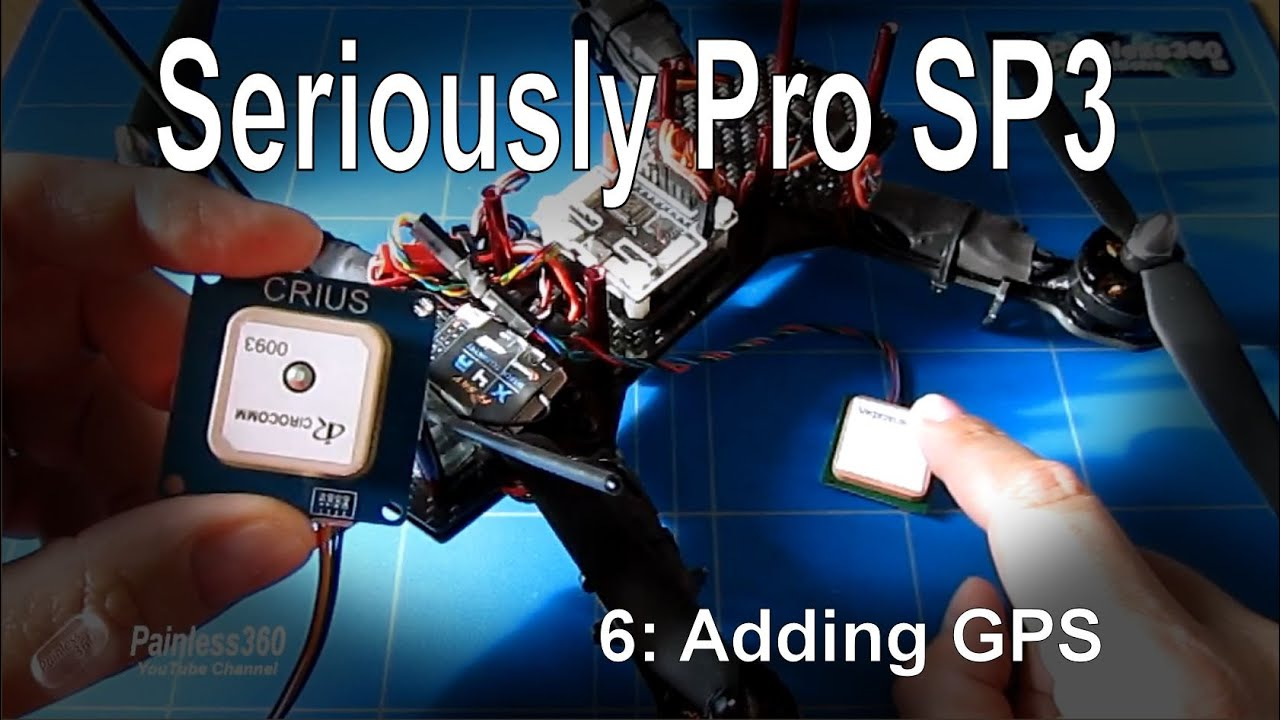 6 9 Seriously Pro F3 Sp3 Series Adding Gps Youtube Naza V2 Wiring Diagram