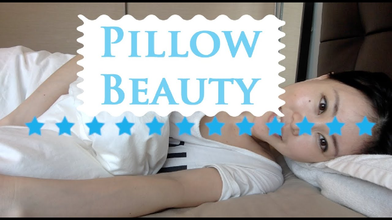 pillow height matters reduce wrinkles on the neck by sleeping with towel pillow