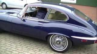 Jaguar E-type V12 1973 fully restored -VIDEO- www.ERclassics.com