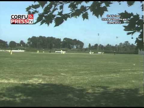 Semifinal 2 - Corfu International School Cricket Tournament 2013