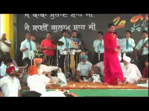 gurdas maan live sep 2013  baba murad shah